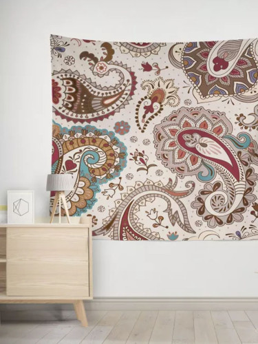 Decorative Bohemian Tapestry Printed White Tapestry Home Decor