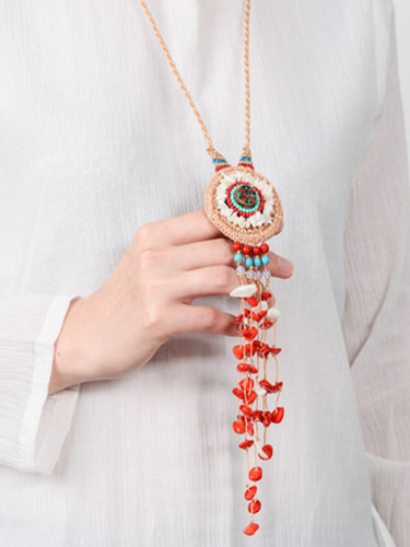 Boho Collar Statement Jewelry for Women Fashion Vintage Ethnic Style