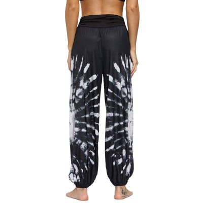 Bohemian Casual Gypsy Pants Baggy Boho Pants