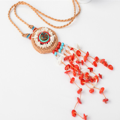 Boho Collar Statement Jewelry for Women Fashion Vintage Ethnic Style
