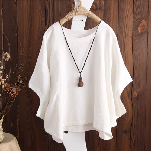 Womens Shirts Plus Size Summer Blouse