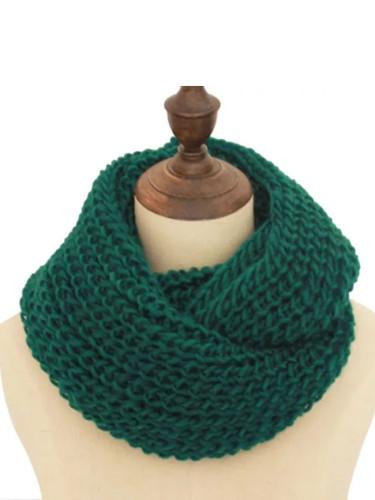 Winter Snood Scarf Knit Infinity Tube Loop Scarf Women