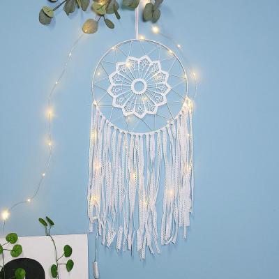 Nordic White Dream Catcher Room Decoration Nursery Decor Wedding Decoration Valentines Day Gift Wall Hanging Decor