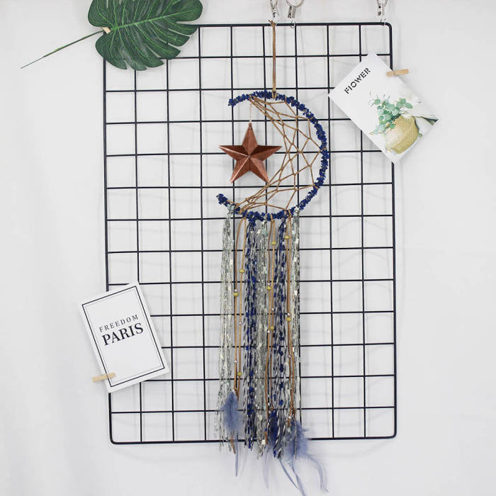 Evil Eye Dream Catcher Room Decor Nordic Christmas Room Decoration Black Wall Hanging Aesthetic Party Gift