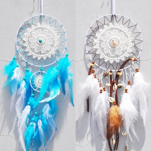 nordic dream catcher room decoration white shell dream catcher girls room decor wedding decoration  gift for girls for women