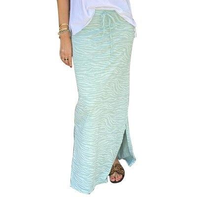 2021 New Fashion Print Slit Irregular Skirt Women Bodycon Midi Skirt Women Pencil Skirt Female