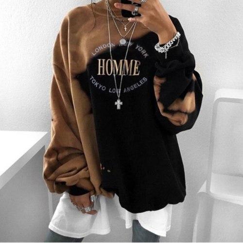 New Ribbed Harajuku HipHop Women Jack Daniel's Sweatshirt Print Hoodies Sweatshirts 2020 Autumn Long Sleeve K Tops Ladies