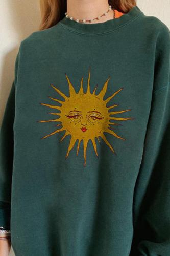 Vintage Letter Print Women Men Loose Hoodies All-match Long Sleeve Autumn Cotton Sweatshirt Casual Hoodies Streetwear Moletom