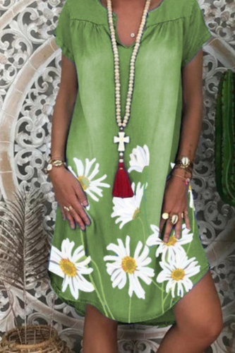 Vintage Denim Dress Womens 2020 Summer New V-neck Short Sleeve Casual Midi Dresses For Women Fashion Loose Plus Size Dress XXL