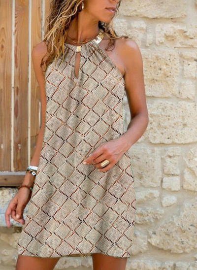 Women Sexy leopard Dress Backless Sleeveless Hang Neck Printed Dress Summer Loose Dress For Lady Flower Dresses 10 styles