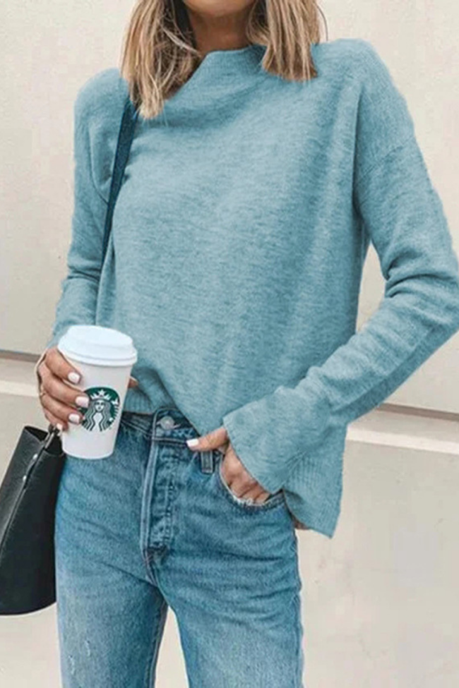 Turtleneck Sweater Autumn Winter Knitted Jumper Women's Sweaters Casual Loose Long Sleeve Pullovers Female