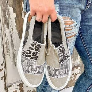 Women Flats Shoes Woman Plus Size Canvas Fabric Flat Casual Loafers Vintage Shoe Chaussures Femme Zapatos Mujer Sapato D1744