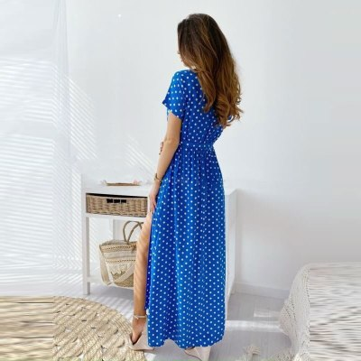 2021 summer new printed polka dot dress women's clothing