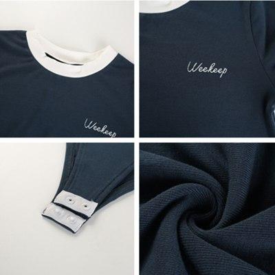 Women's Casual T Shirt Jumpsuit Basic Solid Color  Short Sleeve Mid Waist Shirt Scoop Bodysuit Top Ladies Girls