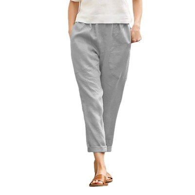 High Street Solid Summer Fashion Solid Cozy Pant Ladies Sexy Trousers For Woman Pants