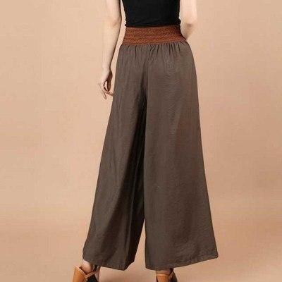 New Fashion Female Wide Leg Pants Women High Waist Stretch Bandage Flare Pants Broad Leg Dance Pants Long Trousers PT285