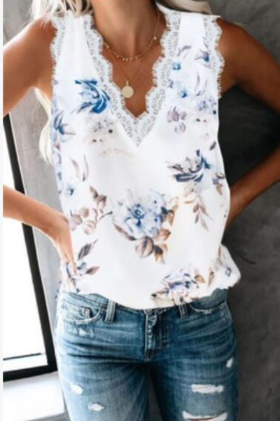 2021 New Summer Leopard Print Blouse Women V-neck Sleeveless Off Shoulder Shirt Top Womens Tops And Blouses Casual Ladies Shirts