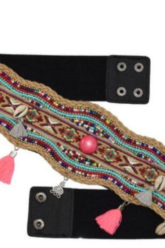 Handmade waistband Bohemian Ethnic Style Street shooting Popular Waist Belt Resin Bead Shell Belly Chain Body Chains Jewelry