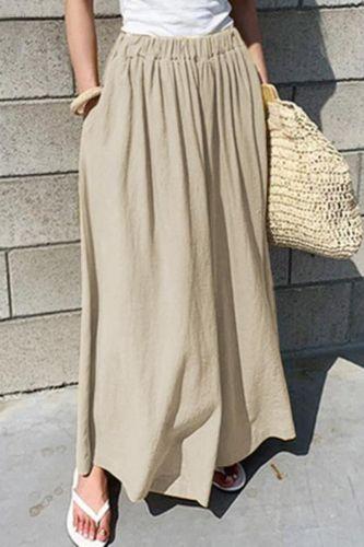 Women's Wide Leg Pants High Waist Comfortable Loose Fashion Female Trousers Streetwear Beach  Casual Plus Size 5XL Pants