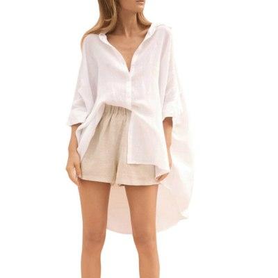 Women Casual Loose Blouse Shirt Tops