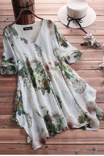 Large Size Women's Shirt Cotton And Linen Plus Size 5XL 6XL 7XL 8XL 9XL Summer Autumn V-neck Short-sleeved Loose White Top