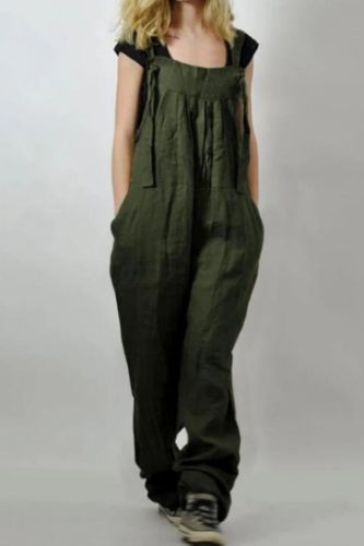 Loose Maternity Strap Pant Suspenders Trousers 2020 Linen Pregnant Women Overalls Jumpsuits Pregnancy Rompers Clothing Plus Size
