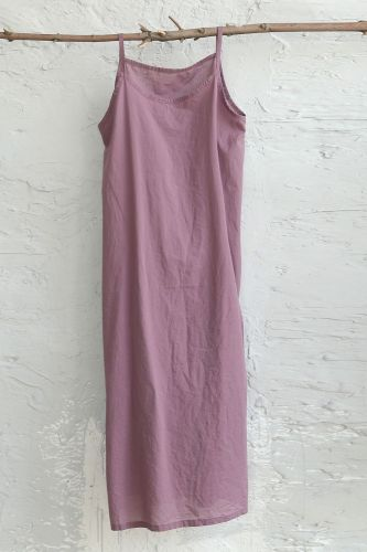 Spring/Summer 2021 New Style Literary Cotton And Linen Women's Pure Color Large Size Loose Wild Suspender Dress