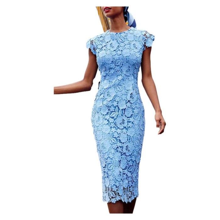 2021 Summer Tunic Pencil Dresses Women Knee-Length Office Dress Short Sleeve Bandage Slim Bodycon Beach Dress Vestidos Robes