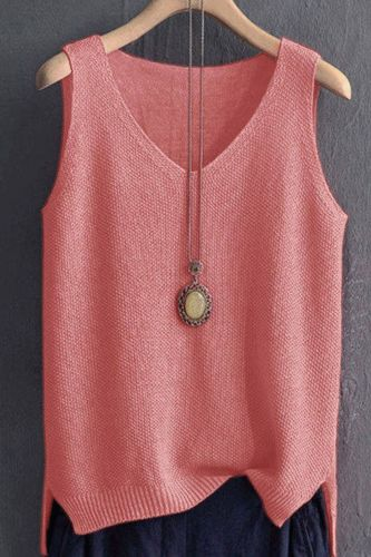 80-200kg loose large sling vest women's summer knitted ice silk T-shirt bottomed shirt with sleeve less top