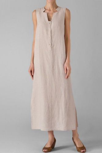 Cotton White Summer Sexy V-neck Neck Sleeveless Loose Dress 5XL Plus Size Loose casual Maxi Long Beach Vintage Dresses