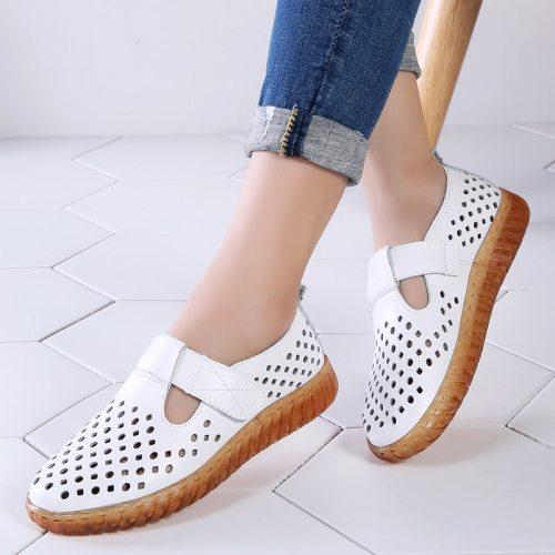 Women Sandals 2021 New Female Shoes Woman Summer Wedge Comfortable Sandals Ladies Slip-on Flat Sandals Sapato Feminino