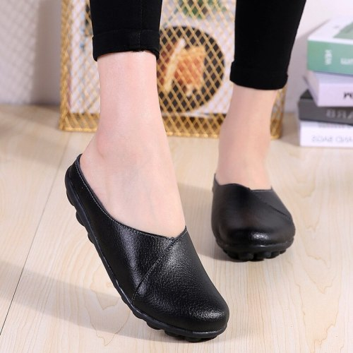Mother Shoes Flats Leisure Women Comrfort Genuine Comfortable Comfort Flat Shoes Woman Shoes
