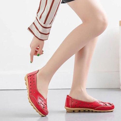 Leather Soft Bottom Women Flats Mother Shoes Comfort 2021 Platform Ballet Shoes For Women Shoes Woman Vulcanize Shoes
