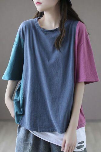 Short-sleeved Women's T-shirt Students Korean Version Loose Women's 2021 New Trendy Top Design Sense Niche Half Sleeve Tshirts