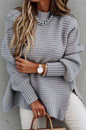 2021 Autumn Knitted Sweater Women Jumper Ladies Plus Size Pullover Women Long Sleeve Loose Sweaters For Women Knitwear