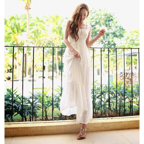 Summer Sexy Bodycon Maxi Long Chiffon Sleeveless Dress For Women Elegant Office Ladies Female Evening Prom Party Casual Clothing