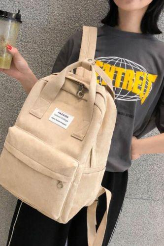 New Trend Backpack Fashion Casual Women Backpack College School Backpack Harajuku Travel School Bags Teenage Girls Shoulder Bag