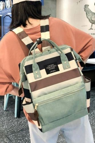 New Trend Female Backpack Fashion Canvas Women Backpack Teenage Girl School Bags Casual Classical Female School Backpack