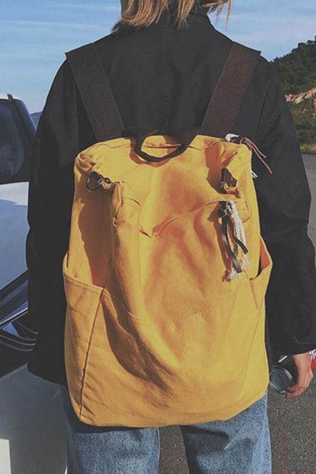 Vintage Style Pure Color Women Backpack Bagpack Canvas Backpack Zipper Travel Backpack Cool Backpacks Womens Mochila Feminina