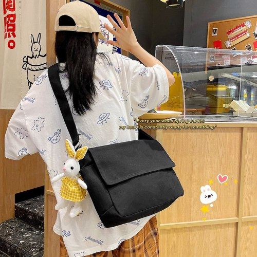2021 New Style Japanese Casual Handbags Women Shoulder Bag Large Capacity Tote Female Women Canvas Girls Bags
