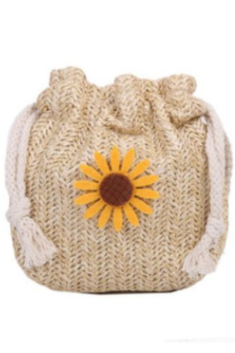 Designer Bag Woven Bag Female Bag Winter Straw Woven Cute Bucket Bag Personality Girl Single Shoulder Messenger Bag Lipstick Bag