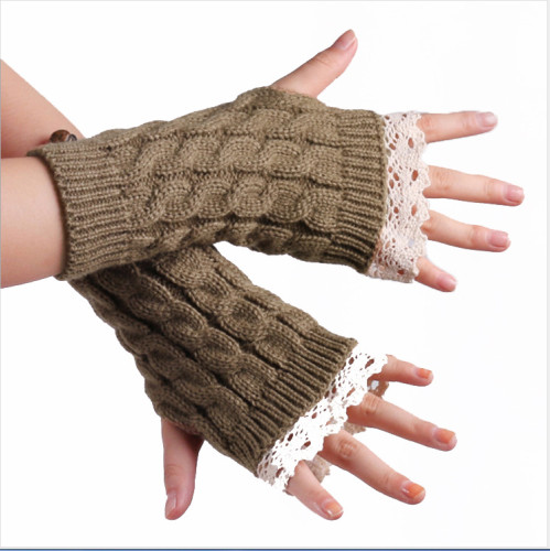 Seven Color Knitted Tribal Gloves & Mittens