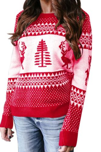 Autumn and winter women's sweater new Christmas fashion Pullover Sweater sweater women's stock