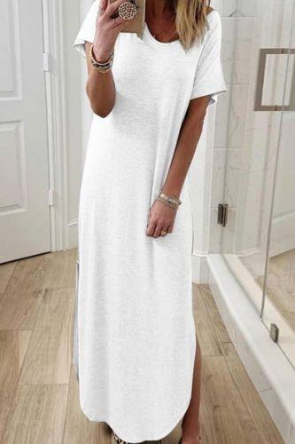 Women Off Shoulder Elegant Boho Dress 2020 Sexy Solid Pocket Split Beach Summer Dresses Ladies Strapless Long Maxi Dress Vestido
