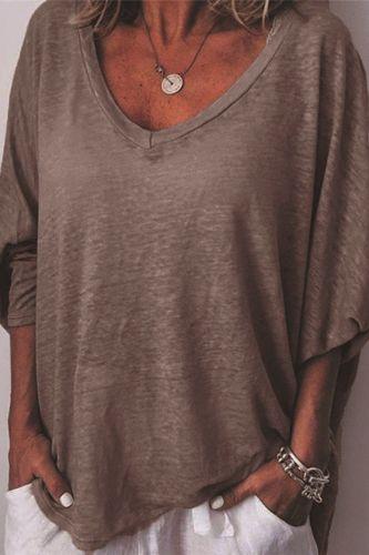 Women's 2021 Autumn Casual Top Long Sleeve Solid Color Bottoming Shirt Women's Heart Collar Bat Sleeve T-shirt New Fasion