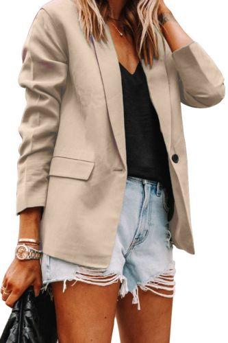 Autumn New Houndstooth Women's Coat Elegant Turn-down Collar Single Button Female Blazer Jacket 2021 Winter Office Ladies Coats