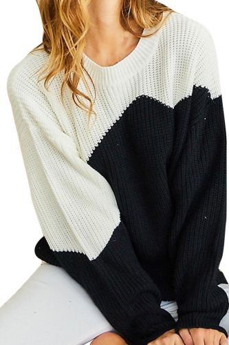 Women Winter Blouse Knitted Hollow Out Patchwork Long Sleeve Holiday Solid Color Sweater Top Casual  Plus Size Shirt Blouse