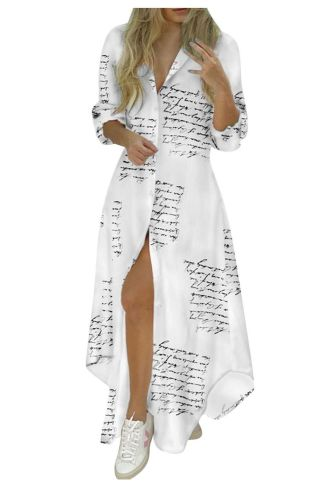 Fashion Floral Women Dress 2021 Botton Maxi Dress Summer Print V-Neck Lacing Slim Body Wrap Hips Long Sleeve Shirt Long Dress