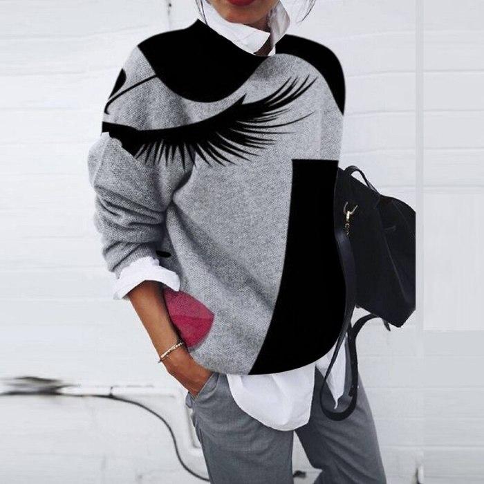 Autumn Winter Female Long Sleeve Harajuku Tops Fashion Button Loose Casual Shirt Blusas Women Printed Vintage Blouse Sweatshirt