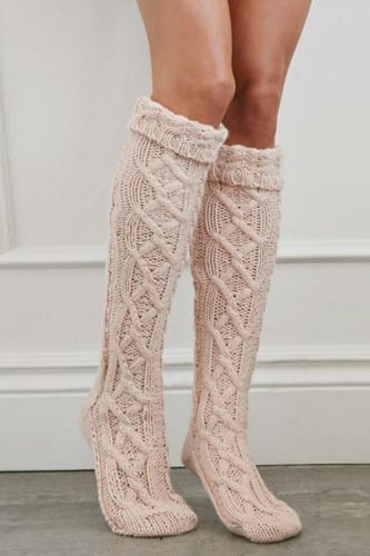 New Fashion 2021 Striped Thigh High Stockings Women Sexy Cotton Stocking Autumn Spring Knee Socks Over The Knee